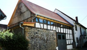 Sanierung einer Scheune in Wolferborn